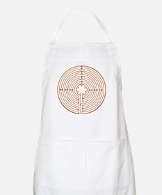Brown Chartres Labyrinth Apron