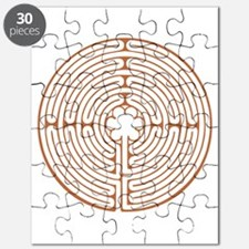 Brown Chartres Labyrinth Puzzle