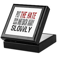 Put The Hate Down Keepsake Box