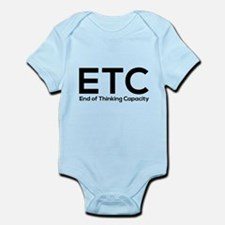 ETC end of thinking capacity Body Suit