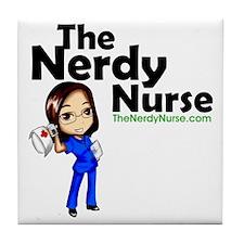 The Nerdy Nurse Tile Coaster