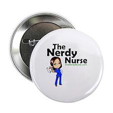 "The Nerdy Nurse 2.25"" Button"
