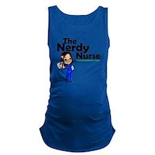 The Nerdy Nurse Maternity Tank Top