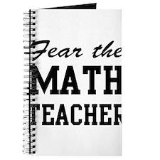 fear the math teacher Journal