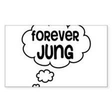 forever jung Bumper Stickers