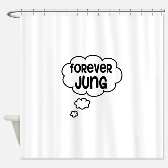 forever jung Shower Curtain