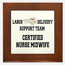 Certified Nurse Midwife Framed Tile