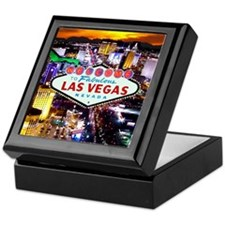 Las Vegas Strip South Keepsake Box
