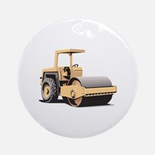Asphalt Paving Machine Equipment Ornament (Round)