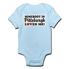 Somebody in Pittsburgh Loves Infant Bodysuit