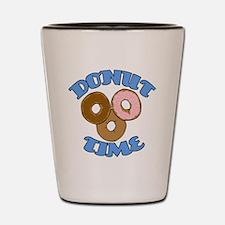 Donut Time Shot Glass