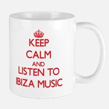 Keep calm and listen to IBIZA MUSIC Mugs