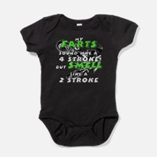 farts smell Baby Bodysuit