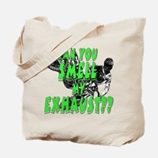 fart exhaust Tote Bag