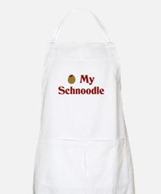 Olive(I Love) My Schnoodle BBQ Apron