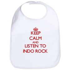 Keep calm and listen to INDO ROCK Bib