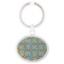 Spanish Tiles Keychains