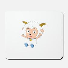 Baby Goat Sheep Mousepad