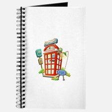 Toy Telephone Booth Journal
