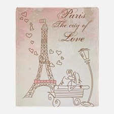 Paris - Eiffel Tower Throw Blanket