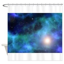 The Amazing Universe Shower Curtain
