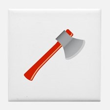 Hand Axe Tool Tile Coaster