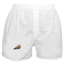 Earth Moving Tractor Boxer Shorts