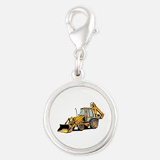 Earth Moving Tractor Charms