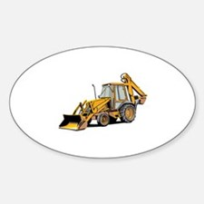 Earth Moving Tractor Decal
