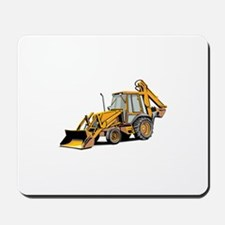 Earth Moving Tractor Mousepad