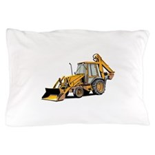 Earth Moving Tractor Pillow Case