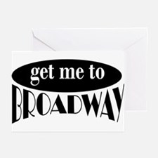 To Broadway Greeting Cards (Pk of 10)