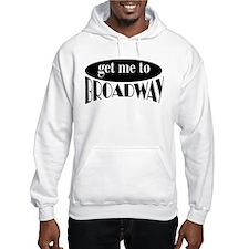 To Broadway Hoodie Sweatshirt