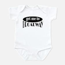 To Broadway Infant Bodysuit