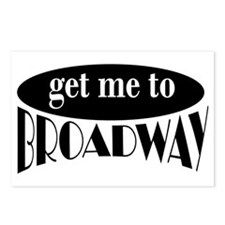 To Broadway Postcards (Package of 8)