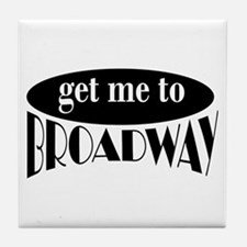 To Broadway Tile Coaster