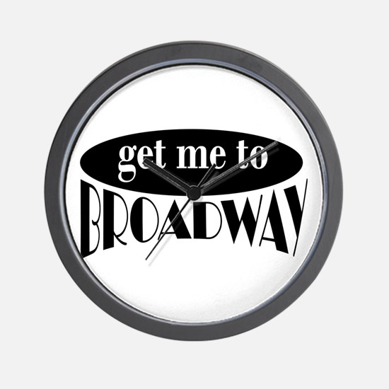 To Broadway Wall Clock