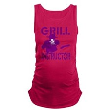 Barbecue Maternity Tank Top