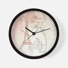 Paris - Eiffel Tower Wall Clock