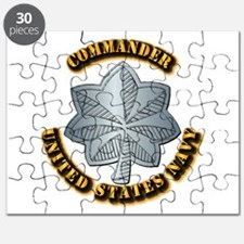 Navy - Commander - O-5 - w Text Puzzle
