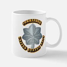 Navy - Commander - O-5 - w Text Mug