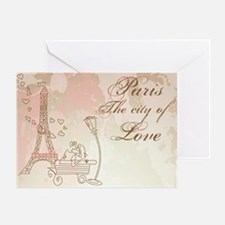 Paris - Eiffel Tower Greeting Cards
