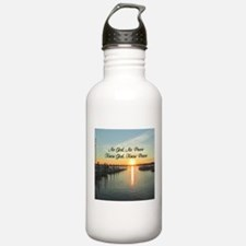 GOD IS PEACE Water Bottle