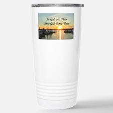 GOD IS PEACE Travel Mug