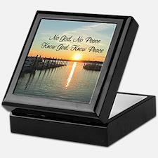 GOD IS PEACE Keepsake Box