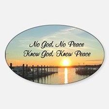 GOD IS PEACE Decal