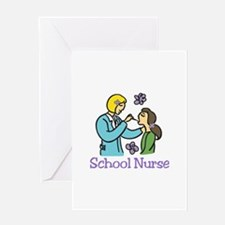 School Nurse Greeting Cards