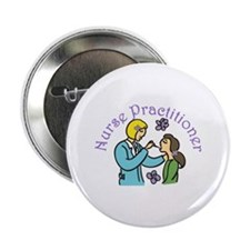 """Nurse Practitioner 2.25"""" Button"""