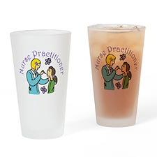 Nurse Practitioner Drinking Glass