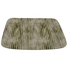 Grungy Grey Riveted Metal Panels MAT Bathmat